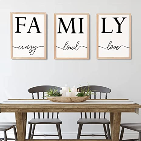 Farmhouse style picture - family