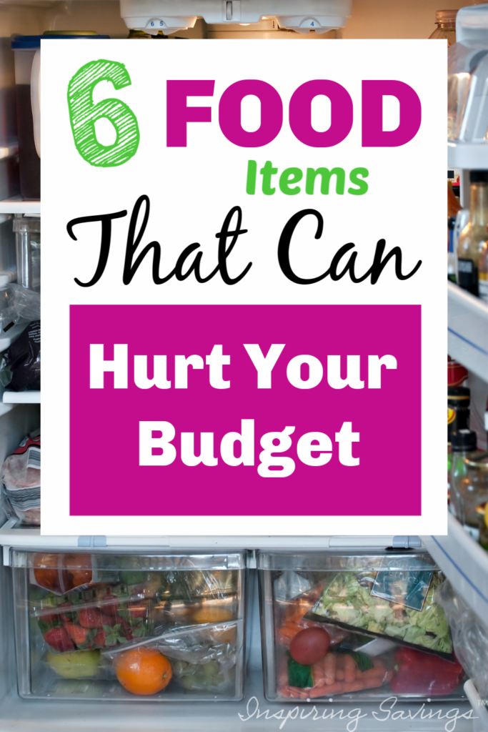 6 food items that can hurt your budget