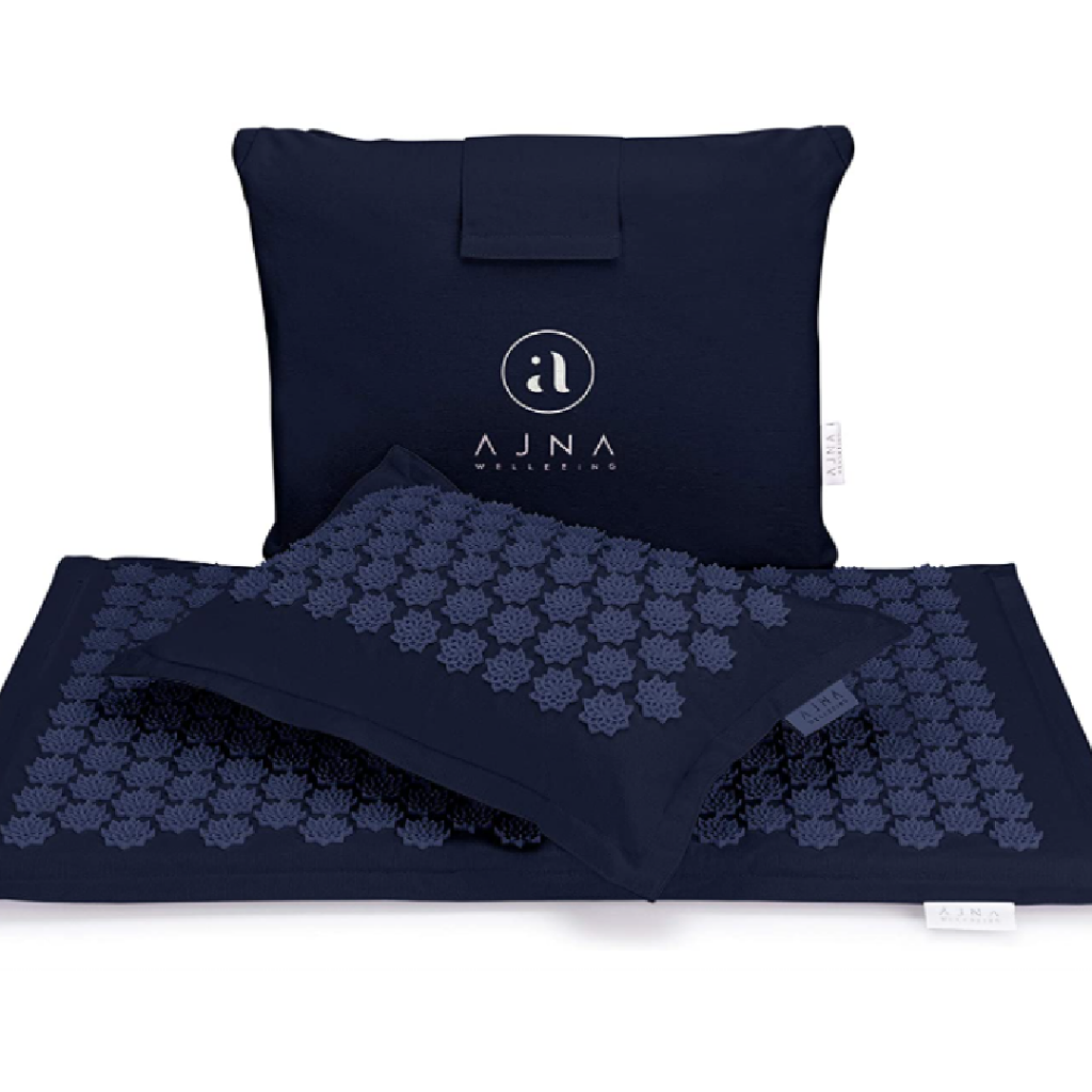 Ajnamat Eco-Luxe Acupressure Mat and Pillow Set