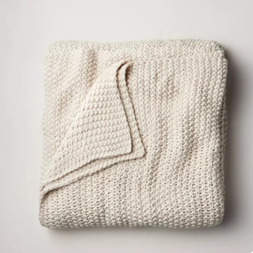 Sweater Knot Blanket