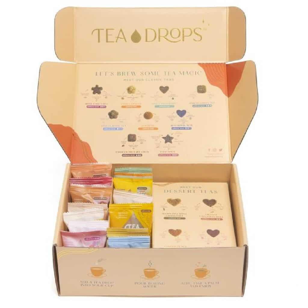 Tea Drops Gift sampler tea set