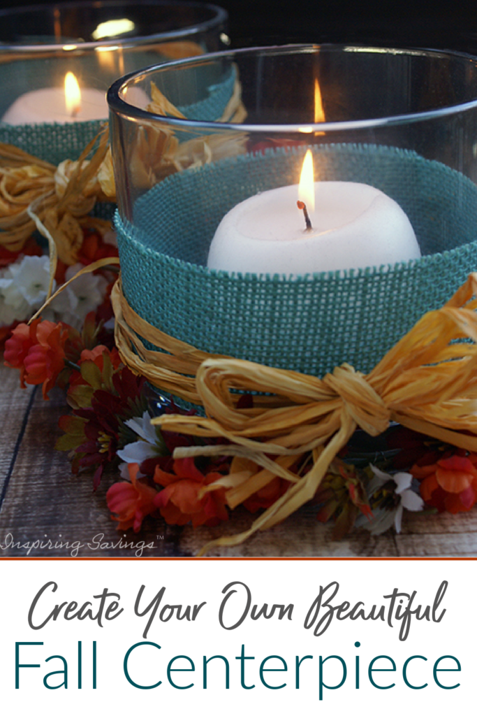 Homemade Fall Centerpiece - Decorate Your Table