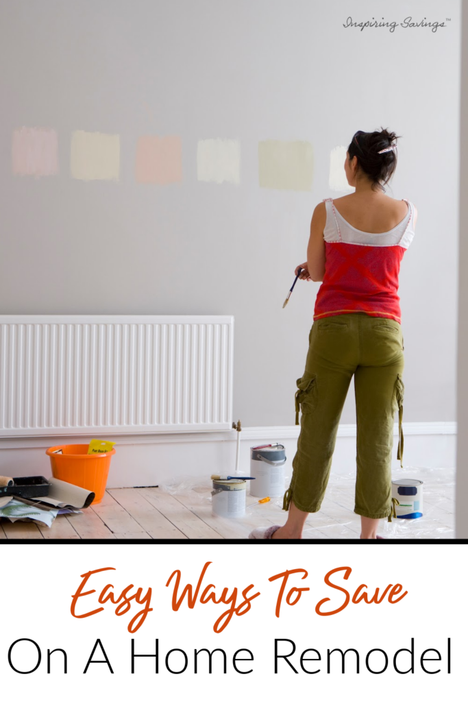 Easy Ways to save on a home remodel