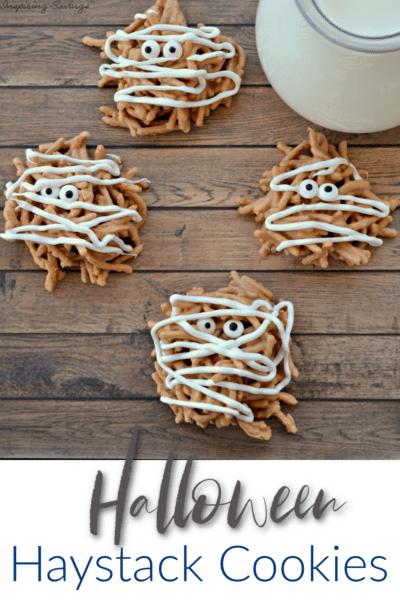 Halloween Haystack Cookies
