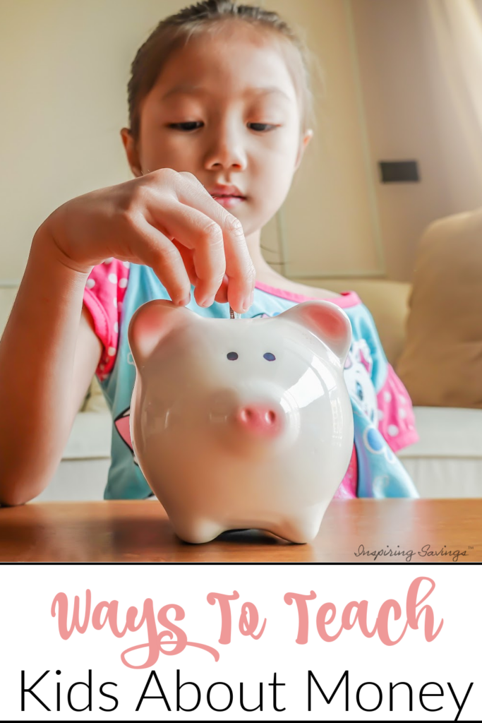 Ways to teach Kids about Money - Easy tips to teach kids to save money